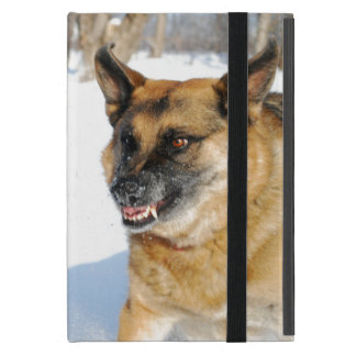 Snarling German Shepherd iPad Mini Covers