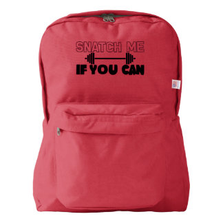 Snatch Me (weights) Backpack