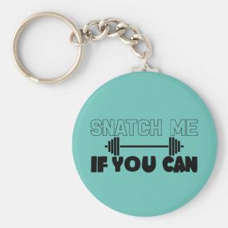 Snatch Me (weights) Basic Round Button Keychain