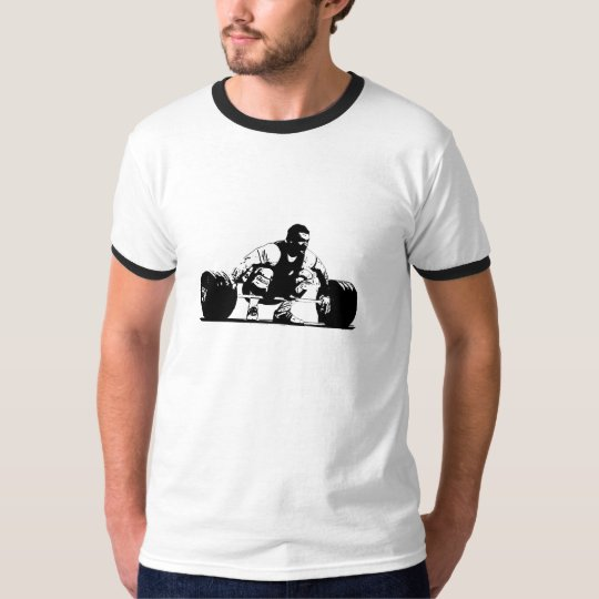 Snatch Ringer Tee