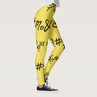 """SNATCHED """"@#$%&!"""" Leggings"""