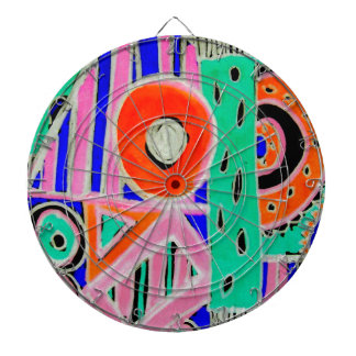 Snazzy Abstract Design Products Dartboard