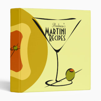 Snazzy Martini Time Binders
