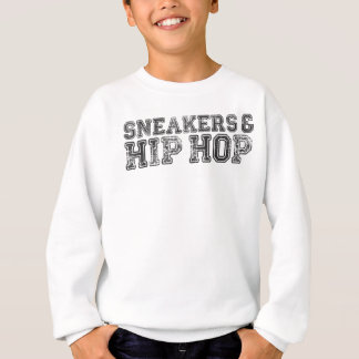Sneakerhead Slogan Print Sweatshirt