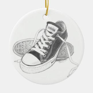 Sneakers Art Ornament