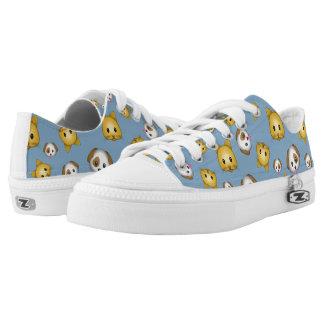 Sneakers Featuring Cat & Dog Emojis