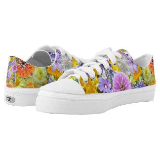 Sneakers - Flowers and Butterflies