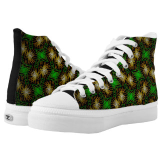 Sneakers Jimette Design green yellow black