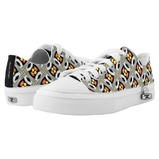 Sneakers Jimette Design red yellow and black