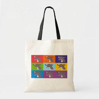 Sneaksy Whippet Shopping bag