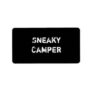 Sneaky Camper. Gamer