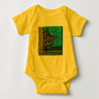 Sneaky Cat Baby Bodysuit