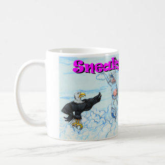 Sneaky Cows and Crabby Eagles Mugs