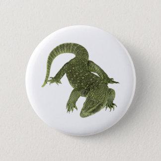 Sneaky Galapagos Iguana 2 Inch Round Button