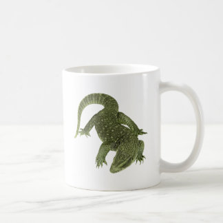 Sneaky Galapagos Iguana Coffee Mug