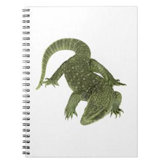 Sneaky Galapagos Iguana Spiral Notebook
