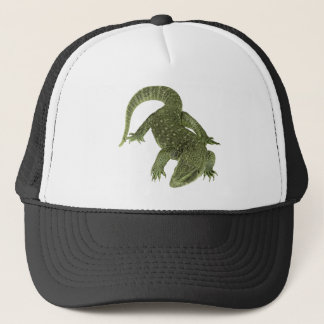 Sneaky Galapagos Iguana Trucker Hat