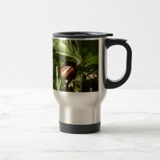 sneaky snail travel mug