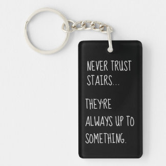 Sneaky Stairs Keychain