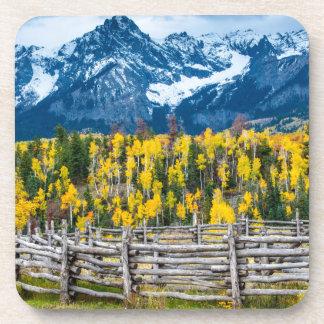 Sneffels Mountain Corral in the Fall - Colorado Coaster