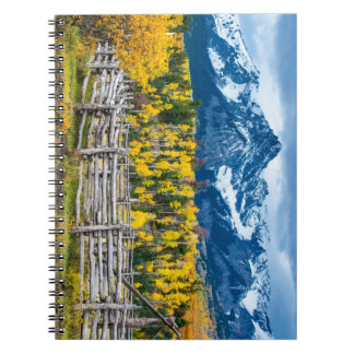 Sneffels Mountain Corral in the Fall - Colorado Notebooks