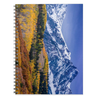 Sneffels Range Fall Sunrise - Colorado Note Book