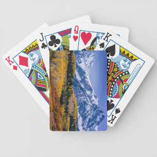 Sneffels Range Fall Sunrise - Colorado Poker Deck
