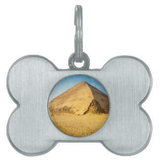 Snefru's Bent Pyramid, Dahshur Pet ID Tag