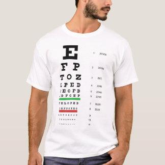 Snellen Eye Chart Basic T-Shirt