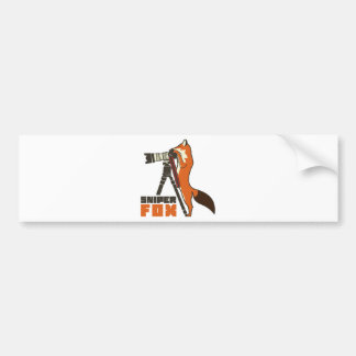 Sniper Fox Bumper Sticker