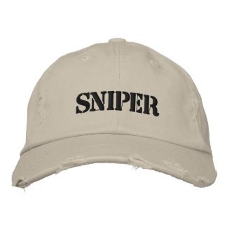 Sniper Hat Embroidered Baseball Caps