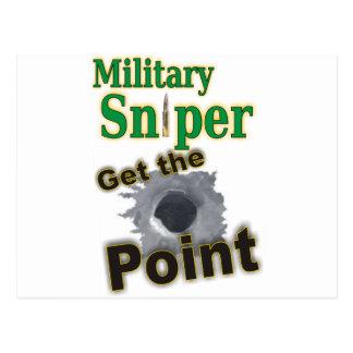 Sniper military(1) postcard