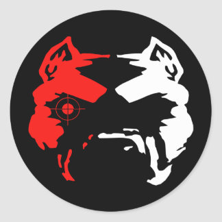 Sniper pitbull sticker