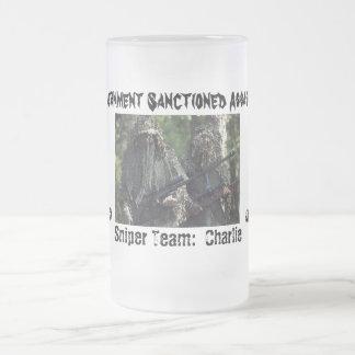 Sniper Team:  Charlie frosted mug