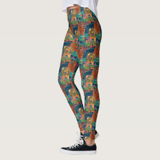 SNIPPET - smaller pattern-  Chow leggings