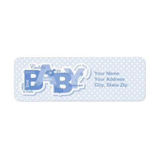 Snips & Snails Baby Label Return Address Label