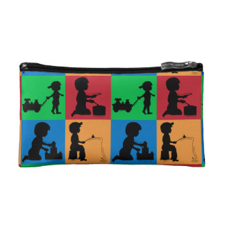 Snips, Snails & Puppy Dogs Tails Cosmetic Bags