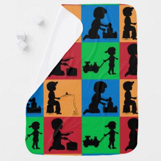 Snips, Snails & Puppy Dogs Tails Stroller Blanket