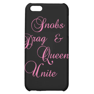 Snobs Cover For iPhone 5C
