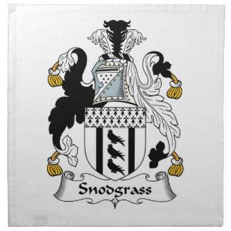 Snodgrass Family Crest Napkin