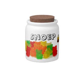 Snoeppot a rencontré plaatjes van snoep boîtes à bonbons