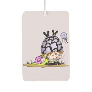 SNOGG & TRIPOK CARTOON Portrait Air Freshener