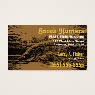 Snook Fish Business Card