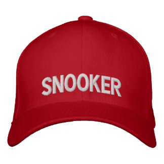 Snooker Embroidered Cap ... ★★★★★