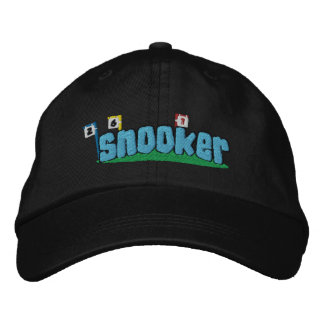 Snooker Embroidered Hat