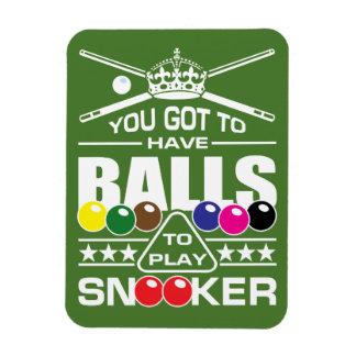 Snooker Notice Magnet