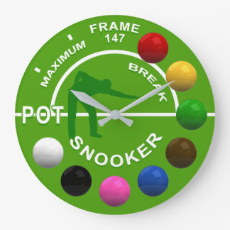 Snooker Players Maximum Break Clock