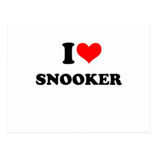 snooker postcard