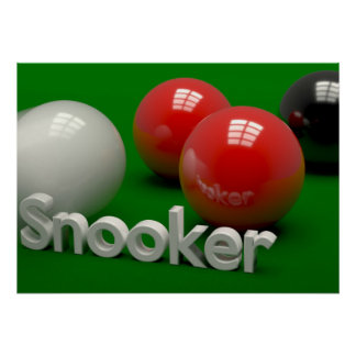 Snooker Poster