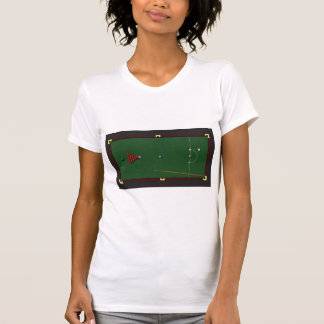 Snooker Table Womens T-Shirt